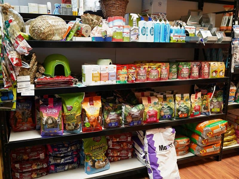Milner Feed and Pet Supply Small Animal Supplies