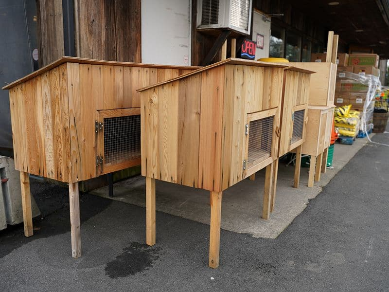 Milner Feed and Pet Supply Hutches