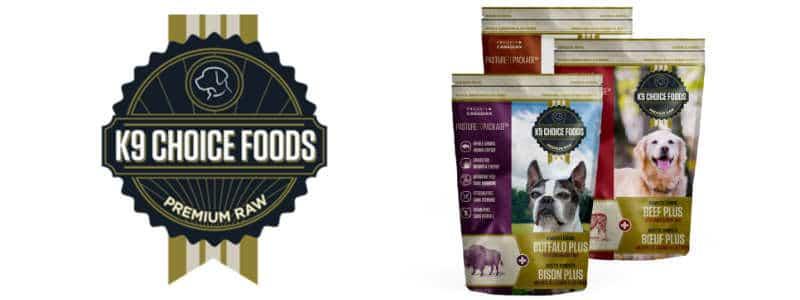 K9 Choice Raw Dog Food